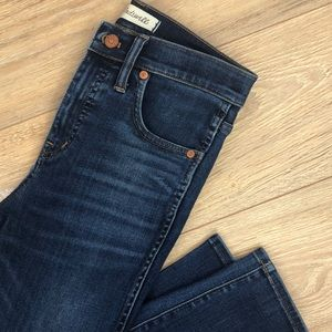 Madewell high rise skinny jeans size 26
